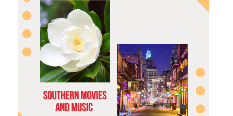 Southern movies and music